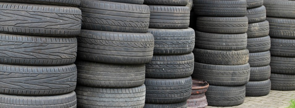 tire inventory outdoors